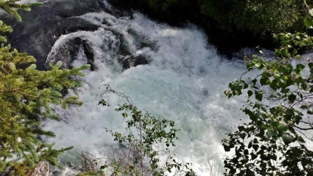 Russian River Falls waterfalls cooper landing alaska