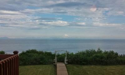 The Bluff House Inn Ninilchik Alaska backyard view