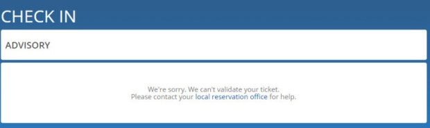 delta award reservation with no ticket check in