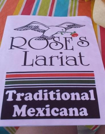 Roses Lariat Rawlins WY menu