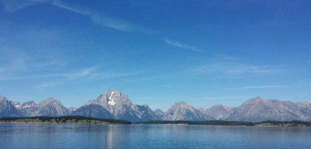 Jackson Lake, Moran Entrance, Grand Teton National Park
