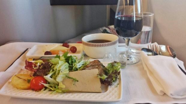 Iberia business class review jfk-mad terrine