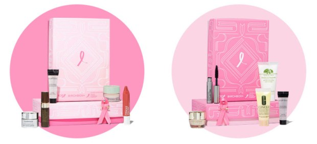 October Birchbox Estee Lauder Boxes Breast Cancer