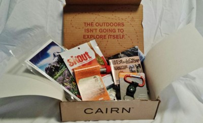 September Cairn Camping monthly subscription box outdoors wont explore themselves