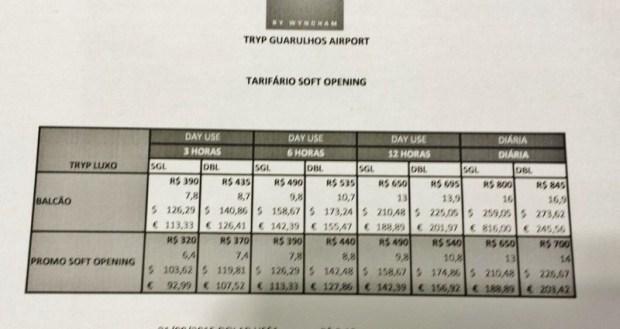 Tryp Wyndham GRU Airport Hotel rack rates