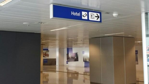 Tryp Wyndham GRU Airport Hotel signage