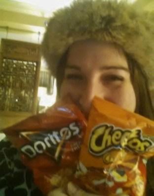 Keri cheetos cheezits