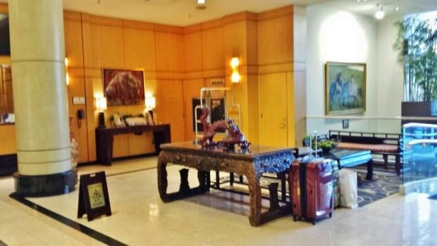 Sheraton Laguardia East Hotel lobby
