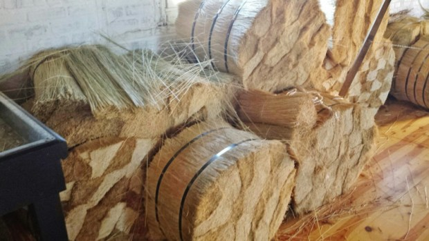 Wyoming Territorial Prison work barn straw