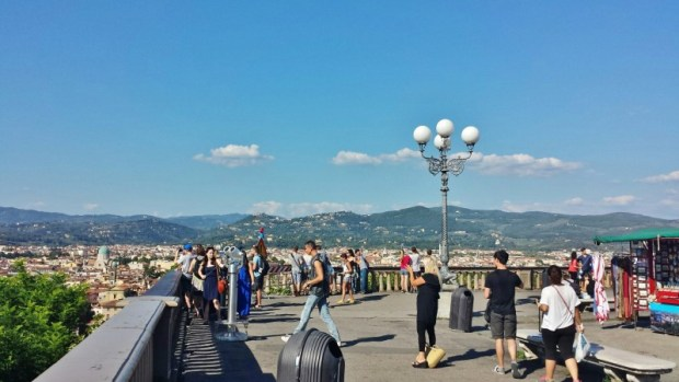 things to do in florence Piazzale Michelangelo