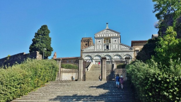 things to do in florence san miniato al monte steps