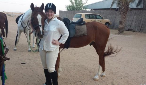 Al Maha Resort Keri horseback riding