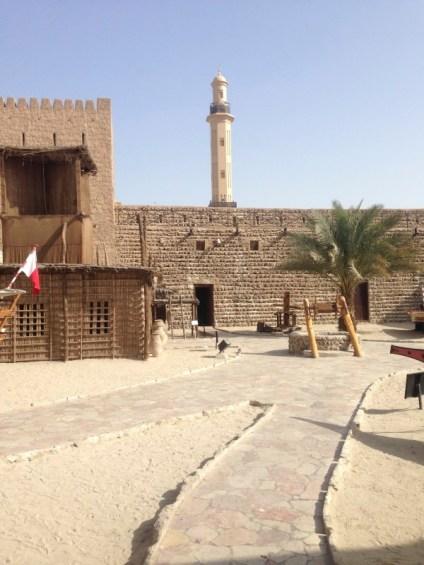 Dubai Museum exterior