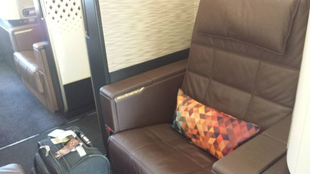 Etihad A380 First Apartment JFK-AUH inaugural seat (2)