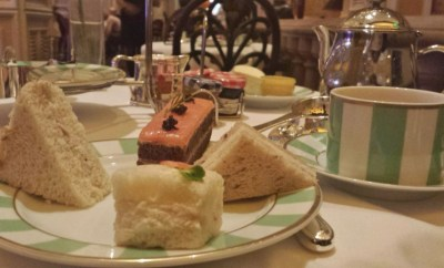 High Tea Las Vegas Bellagio Petrossian Bar Sandwiches
