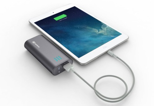 Jackery Bar External Battery Charger - 6000mAh with phone