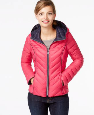 macys Nautica Reversible Packable Down Coat