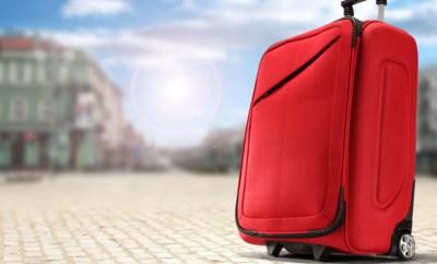 rolling suitcase carryon europe