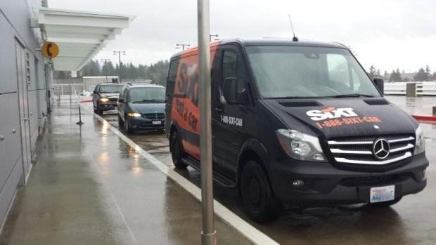 seattle rental car sixt location shuttle