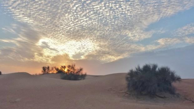 sunset in the desert al maha resort dubai