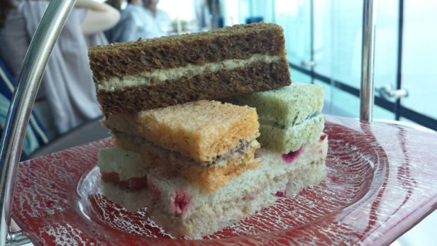 Burj Al Arab afternoon tea Skyview Bar finger sandwich variety