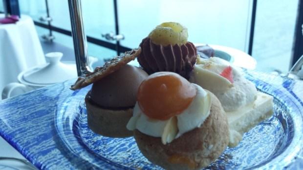 Burj Al Arab afternoon tea Skyview Bar patisseries