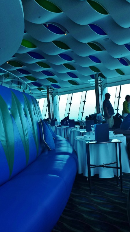 Burj Al Arab afternoon tea Skyview Bar seating