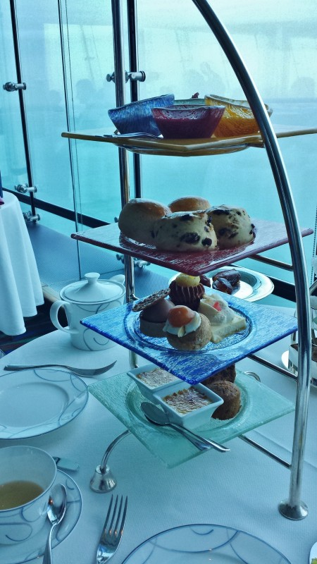 Burj Al Arab afternoon tea Skyview Bar tower