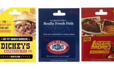 Dickeys gift card deal amazon