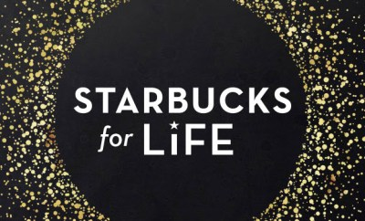 starbucks for life