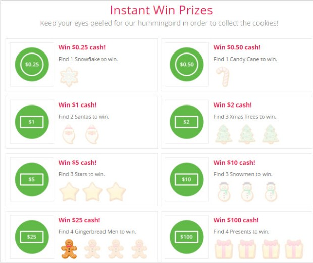 topcashback xmas treat giveaway prizes