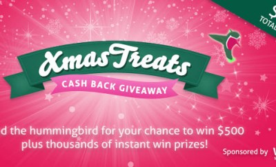 topcashback xmas treats