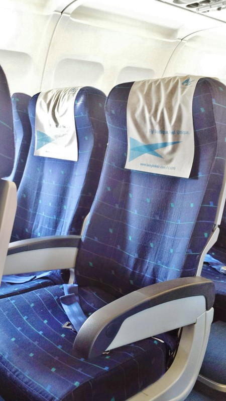 Bangkok Airways economy seat chiang mai to bangkok