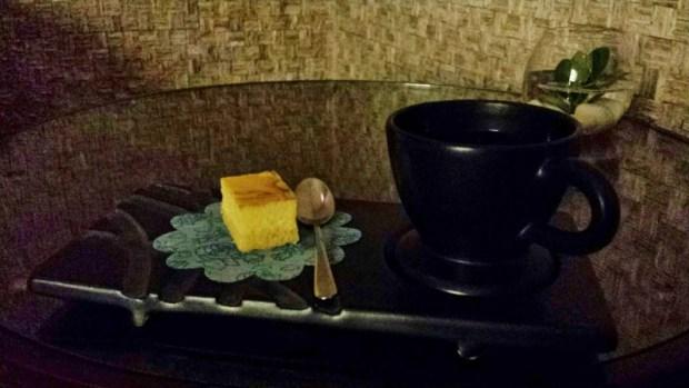 Chiang Mai Spa Le Meridien dessert