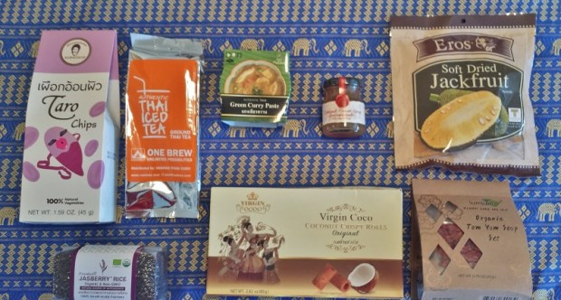 Try the World food subscription box Thailand choices