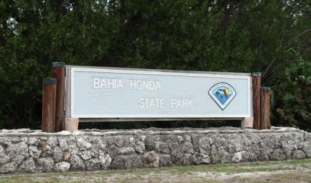 bahia honda state park sign