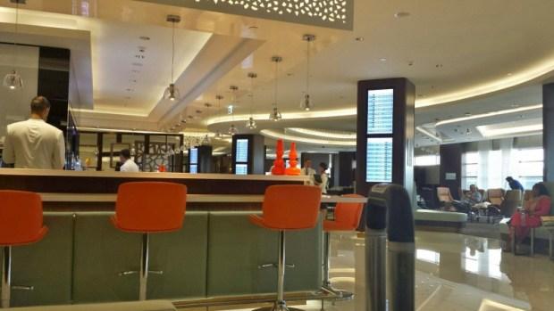 etihad premium lounge abu dhabi terminal 3 bar