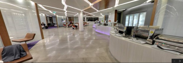 virgin australia lounge sydney street view