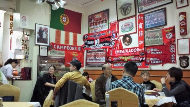 O Santos Portuguese Restaurant Macau interior