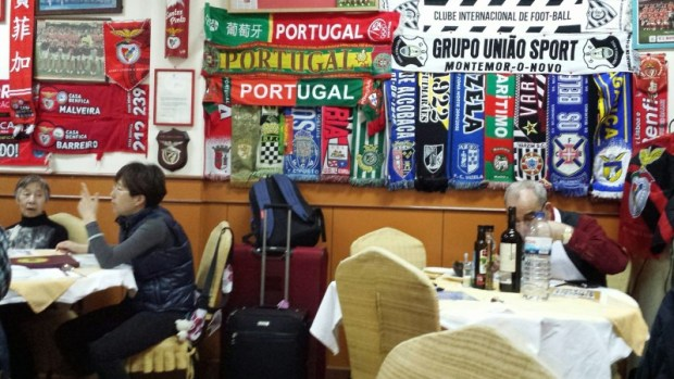 O Santos Portuguese Restaurant Macau owner dining