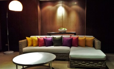 Thai First Class Lounge Bangkok new seating