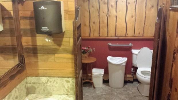 chatanika lodge restaurant fairbanks restroom