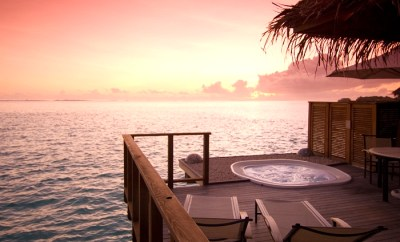 conrad maldives overwater bungalow