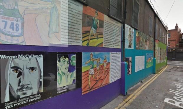 dublin wall of irish sports bedford lane