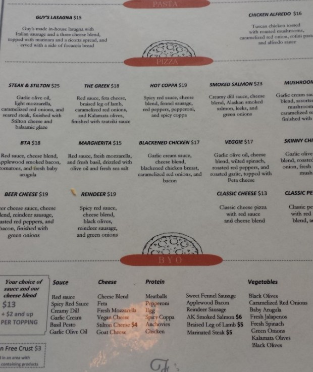 fat ptarmigan anchorage restaurants menu
