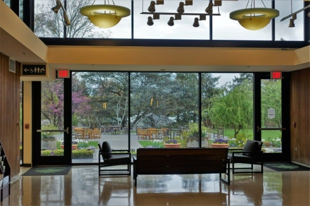 National Arboretum DC visitors center lobby