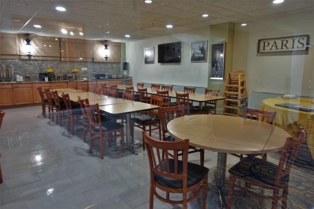 San Juan Airport Hotel Review breakfast room