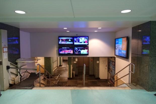 San Juan Airport Hotel Review stairs