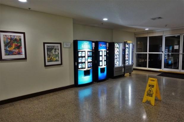 San Juan Airport Hotel Review vending