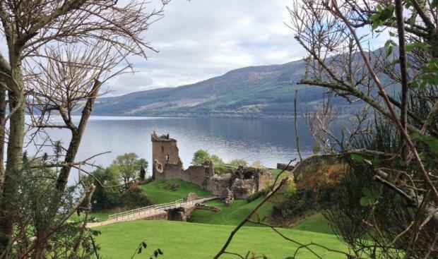 Urquart Castle on Loch Ness credit: MalkyJ